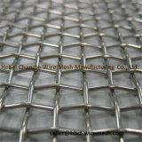China-Edelstahl-Quadrat quetschverbundener gesponnener Maschendraht