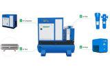 37 quilowatts de potência de C.A. industrial lubrific o compressor de ar combinado do parafuso
