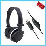 Chegada Nova Elegante USB Headphone Gaming Headset para PS4