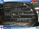 Fascio di sezione della trave di acciaio H di H