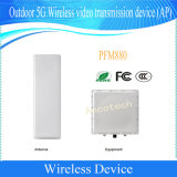 Al aire libre Dahua 5g del dispositivo de transmisión inalámbrica de vídeo (PFM AP880)