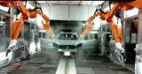 La línea de montaje profesional coches diseñados y fabricados por Jdsk