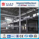 Almacén pre fabricado de acero ligero de la estructura