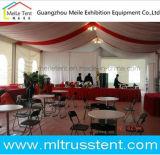 Tenda di lusso del baldacchino della tenda foranea di cerimonia nuziale con la decorazione del rivestimento del tetto