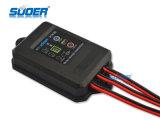 防水機能(ST-F1205)のSuoer 5A 12Vの太陽エネルギーの料金の情報処理機能をもったコントローラ