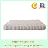 Alta calidad del resorte doble del bolsillo del colchón de la tapa de la almohadilla