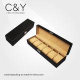 Вахты кожи PU высокого качества коробка изготовленный на заказ упаковывая