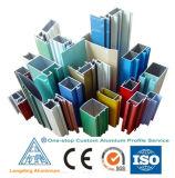 China perfil de alumínio de qualidade superior para a janela de vidro da porta Aulminium