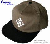 Fábrica no estructurada del casquillo del Snapback del sombrero de los 5 paneles