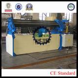 Tipo asimétrico prensa de doblez y de batir W11F-3X1300 de la placa