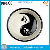 Impressão personalizada Bonitinha Taça Cão Gato de porcelana