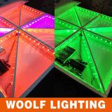 2017 nouvelle commande LED Dance Floor de Woolf DMX512 de noce de conceptions