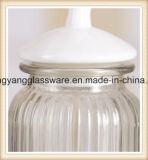 A fábrica fornece diretamente o frasco de vidro do armazenamento do frasco/alimento do armazenamento do Sell quente para a aplicação Home