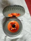 250-4 편평한 자유로운 PU 거품 바퀴