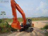 Máquina escavadora Ex450 de Hitachi, cilindro do braço, cilindro do crescimento, cilindro da cubeta