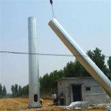 강철 폴란드 안테나 Monopoles에 의하여 직류 전기를 통하는 통신 타워