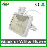 Новый стиль 30W белого или черного цвета датчика Светодиодный прожектор