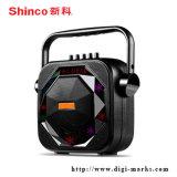 Altofalante ativo plástico carregável do karaoke de um Bluetooth de 6.5 polegadas