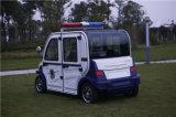 Una pattuglia della polizia elettrica del poliziotto A70 di 4 Seater