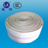 Ampliable de PVC tejido flexible, manguera plana