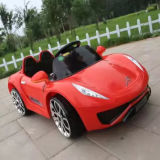 Carro elétrico do brinquedo do bebê da roda da cor vermelha 4