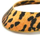 Halsband van de Nauwsluitende halsketting van de Torsies van het Leer van de Luipaard van de persoonlijkheid de Sexy voor Vrouwen