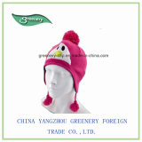 Зимний простой стиль теплый трикотаж Red Hat