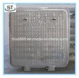 tampa de câmara de visita B125 do ferro de molde 450X450