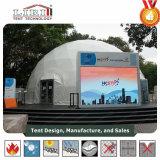 Tente de chapiteau de dôme du diamètre 30m transparente avec le moteur