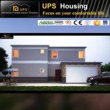 Prueba de huracanes de doble piso, casa prefabricada de hormigón con decoraciones de lujo