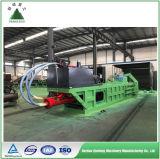Automatische hydraulische Schrott-Pappballenpresse-Maschine