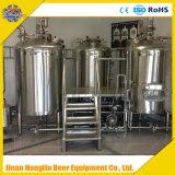 Planta micro 500L, 700L, 1000L, equipo de la cervecería de la cervecería de la cerveza del tratamiento por lotes 1500L uno