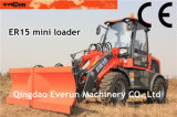 Snow Bucket를 가진 Everun 세륨 Approved Mini Loader Er15