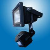Foco LED recargable luz Sensor de movimiento de 50W de luz LED de trabajo