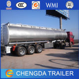 De prix bas du Tri-Essieu 45m3 d'essence de camion-citerne remorque semi
