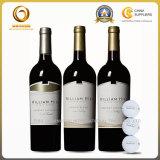 Frascos de vinho de vidro vermelhos chineses da fábrica 750ml (489)