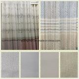 Cortina de janela de cortina de janela de Tulle Cortina decorativa de tecido de poliéster