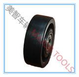 플라스틱 PP 단단한 타이어 가구 피마자 바퀴의 작은 크기