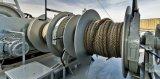 Chigre eléctrico para el barco, manera del resbalón, nave, tornos eléctricos del muelle seco