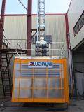 Matériau de construction d'ingénierie de cage de Xmt /Twin et machines simples de passager