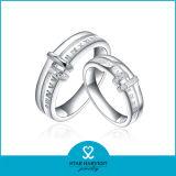 La máxima calidad joyería de plata compromiso anillo de bodas (SH-R0216)