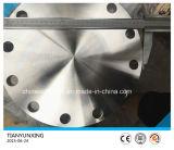 Bride borgne d'acier inoxydable de JIS B2220 S31803 Deplex
