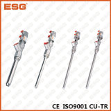 Válvula de enchimento do aço inoxidável de Esg