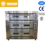 2-9 bandejas eléctrico cubierta / Gas horno de cocción para pan / torta / Crema