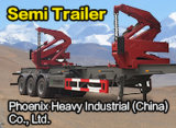 40feet Side Loader Semi Trailer für Lifting und Carrying Container