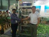 Machine van de Etikettering van de Koker van de Aandrijving van de hoge snelheid de Dubbele voor Flessen
