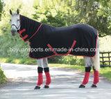 Cobertores polares equestres do velo do cavalo