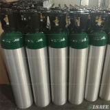 Cilindro ad ossigeno e gas di alluminio misura ambulanza 10L