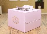 Boîte-cadeau de papier de empaquetage d'emballage de chocolat de gâteau de pizza de savon de carton