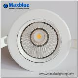 6W 9W plafonnier encastré moderne COB Dimmable LED Down Light